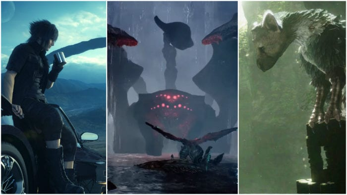 delay games 2016 scalebound last guardian ffxv