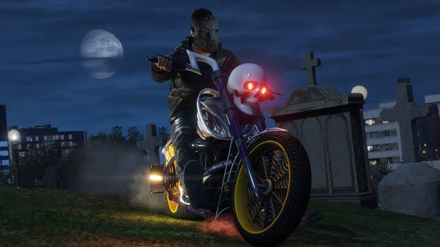 gta v lcc halloween motorcycle