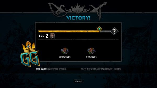 gwent GG good game