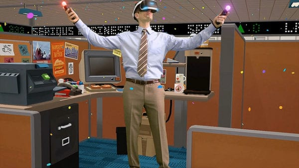 psvr, launch games, job simulator