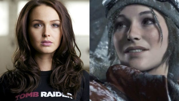 Camilla Luddington as Lara Croft