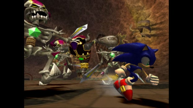 20) SONIC AND THE SECRET RINGS - 69