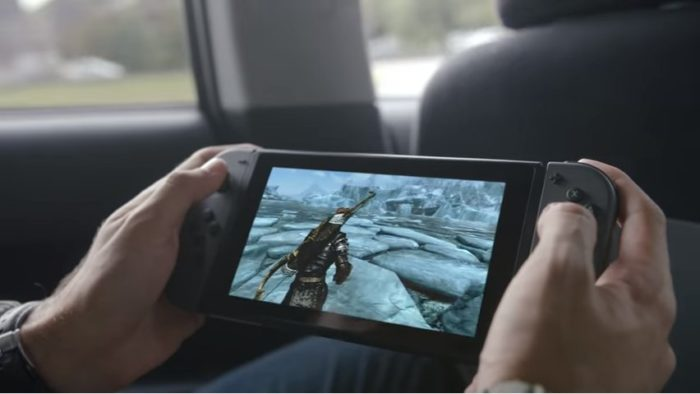 Skyrim, switch