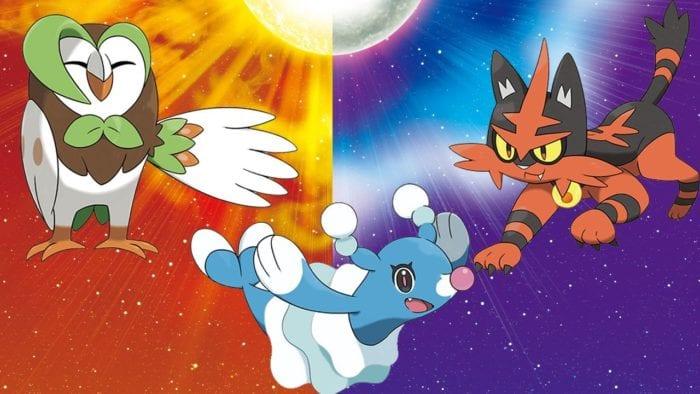 Pokemon, sun and moon, starters, evolutions