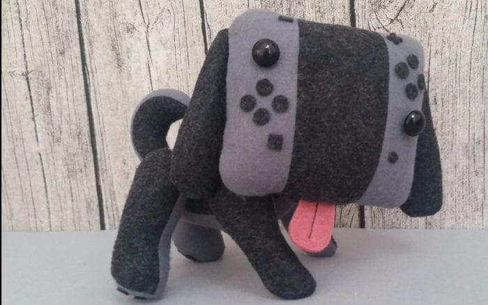nintendo switch puppy plush