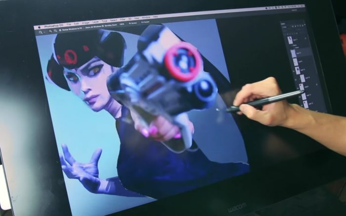 widowmaker, overwatch, illustration, video, mom, transforms