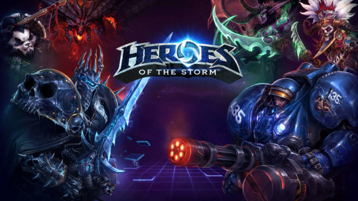 Heroes of the Storm, genji, most played games, monthly players