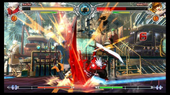 BlazBlue: Central Fiction Ragna Makoto Fight