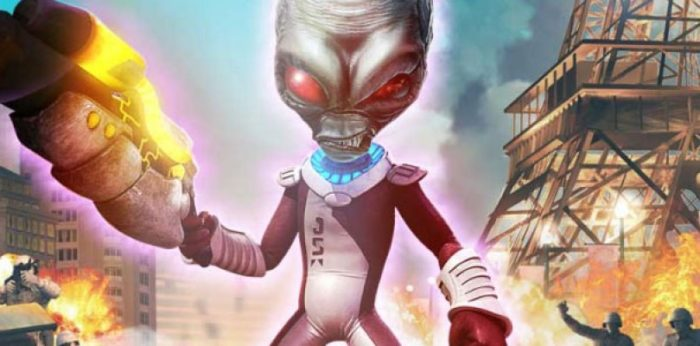 how to call the saucer destroy all humans