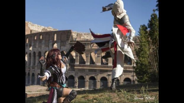 Ezio and Madrakele