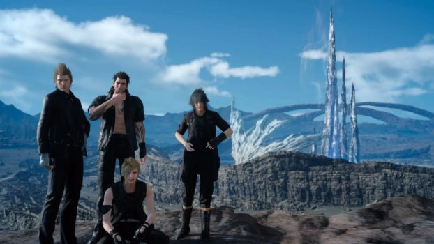 Noctis+the Guys (Final Fantasy XV)