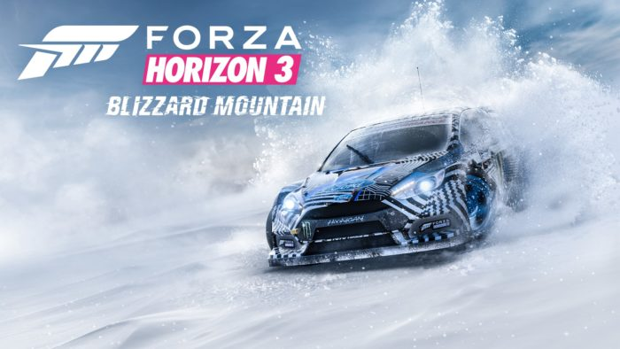forza horizon 3, blizzard mountain, dlc, expansion