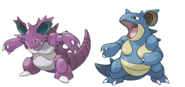 Can a Nidoqueen breed with a Nidoking?
