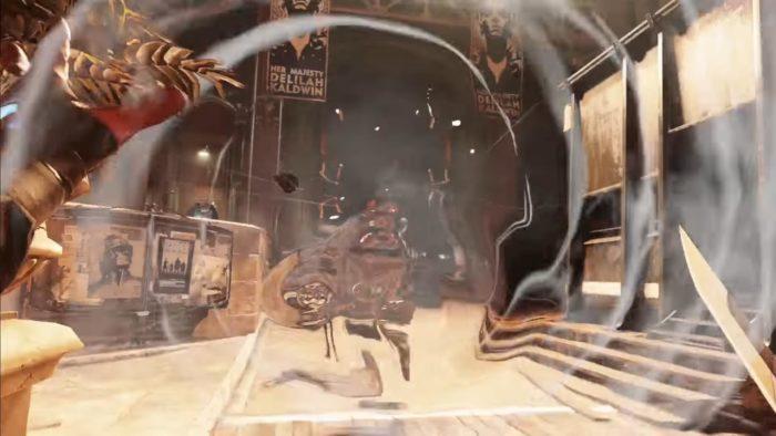 Dishonored 2 Wind Blast