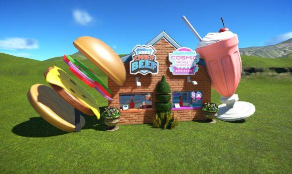 Burger and Shake Stand