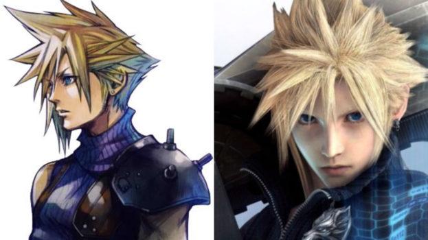 3. Cloud Strife - Final Fantasy VII