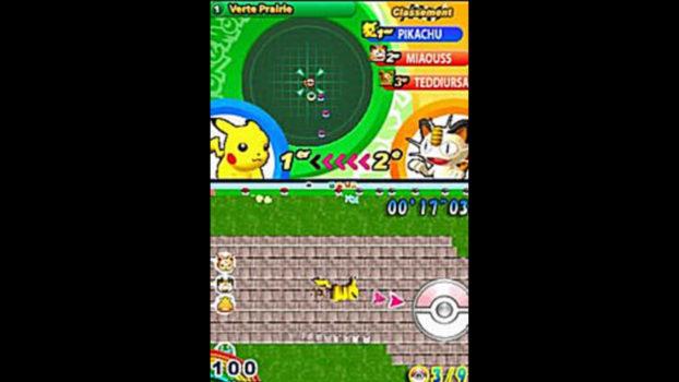 Pokemon Dash (Nintendo DS) - 2005