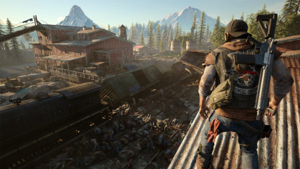 days gone, zombie games