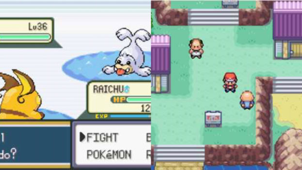 Pokemon FireRed and LeafGreen (Game Boy Advance) - 2004