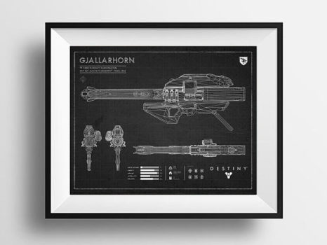 Black Gjallarhorn Blueprint