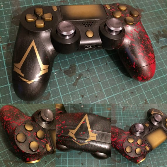 10 Of The Best PlayStation 4 Dualshock Controller Designs
