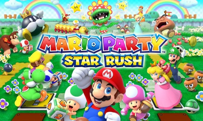 mario party star rush, mario party, nintendo, review, 3DS