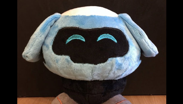 Mei's Snowball Robot Plush