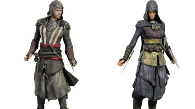 Assassin's Creed Movie Aguilar and Maria Figurines
