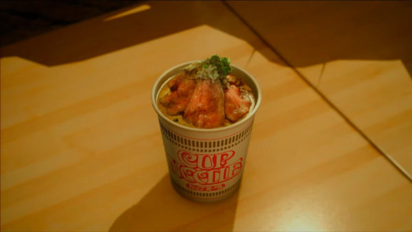 cup noodle Final Fantasy XV