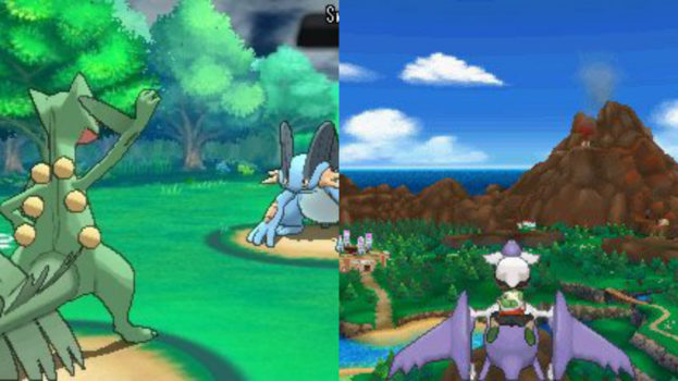 Pokemon Omega Ruby and Alpha Sapphire (Nintendo 3DS) - 2014