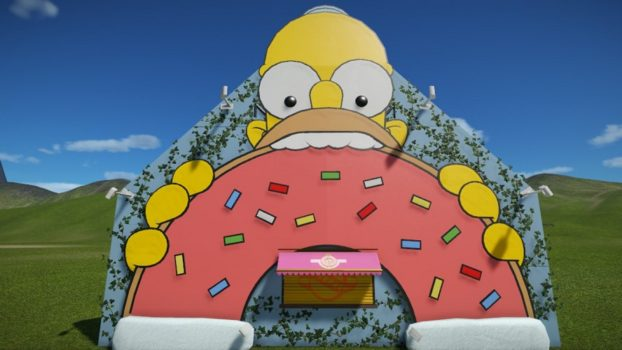 Homer Simpson Donut Shop