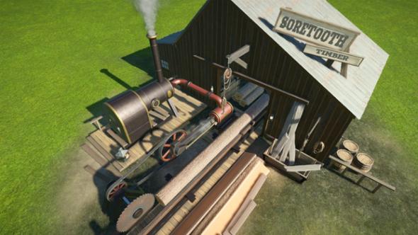 Soretooth Timber Mill