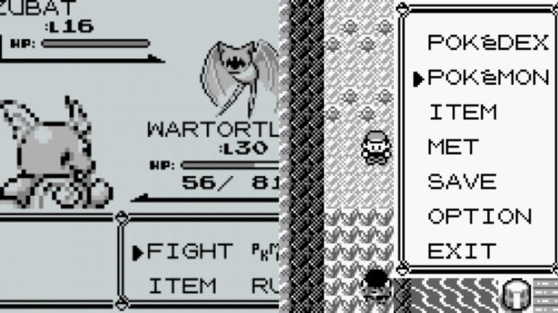 Pokemon Red and Blue (Game Boy, Game Boy Color) - 1998