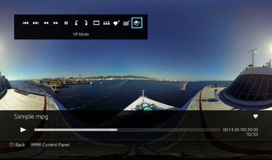 PS4 PSVR media player