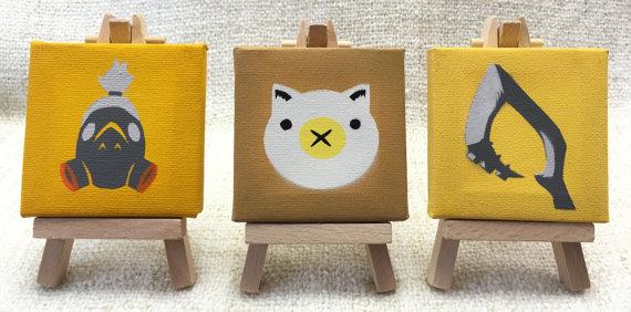 Roadhog Mini Canvas and Easel