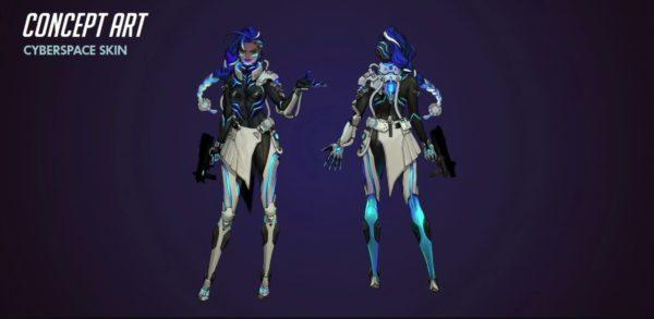 Overwatch Sombra Skin
