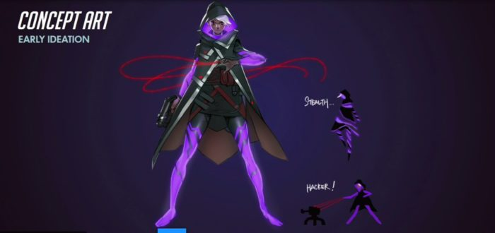 Overwatch Sombra Concept Art
