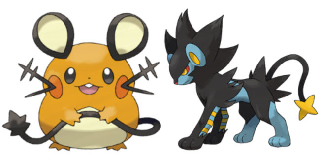 Can Dedenne and Luxray breed?