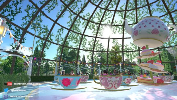 TeaCup Ivy Pavilion