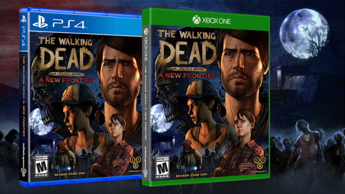 the walking dead, a new frontier, release, date, telltale, announced, december, physical copy, clementine