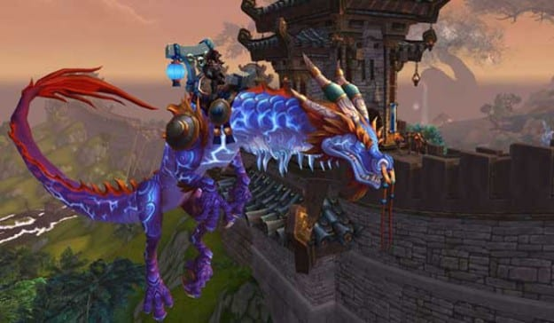 World of Warcraft flying mount