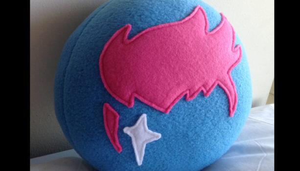 Zarya Logo Pillow