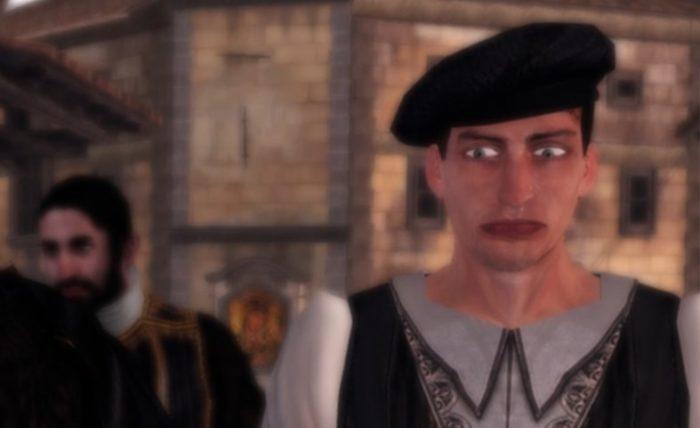 assassins creed ezio collection npc face