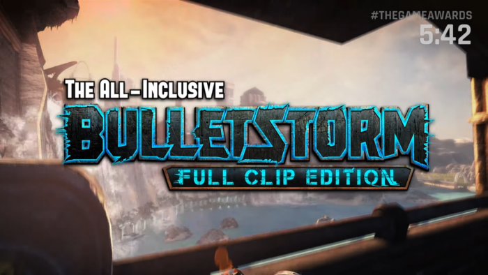 bulletstorm: full clip edition, the game awards, 2016