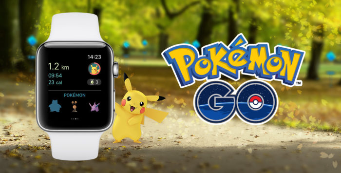 pokemon go, apple watch