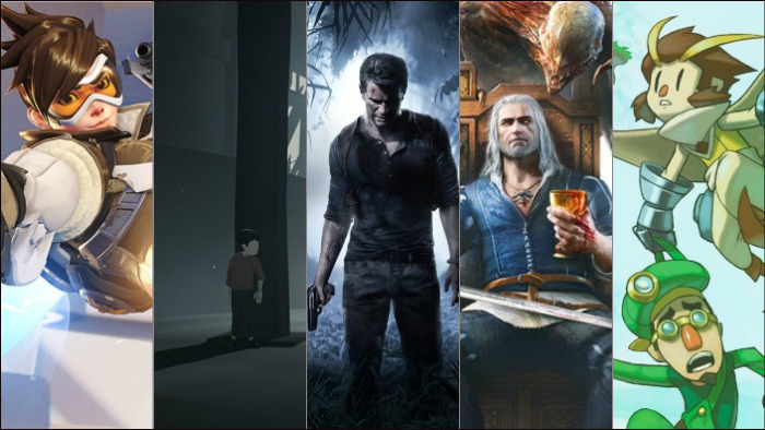 best, reviewed, games, 2016, uncharted 4, inside, overwatch, pwlboy, witcher 3