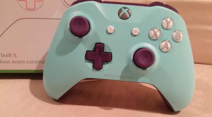 Xbox Gamerscore Record Holder Proposes With Custom Xbox One Controller