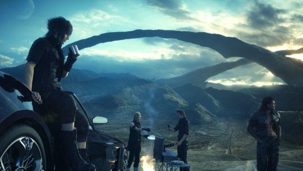 Final Fantasy XV, christmas, games, gifted