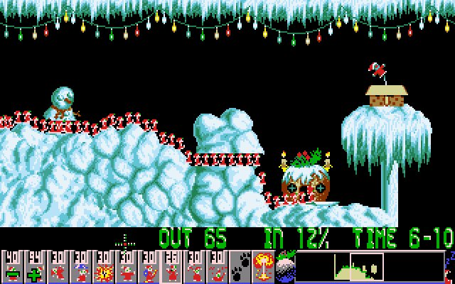 christmas lemmings
