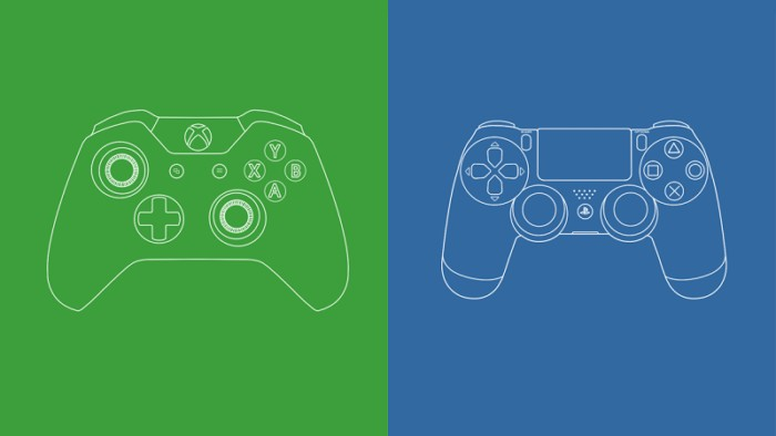 playstation-4-xbox-one-controllers